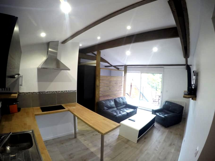 Beau studio neuf calme balcon - Fontenay-aux-Roses - Departamento