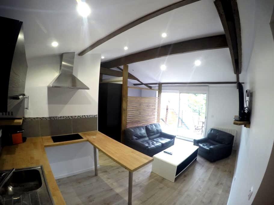 Beau studio neuf calme balcon - Fontenay-aux-Roses - Appartement