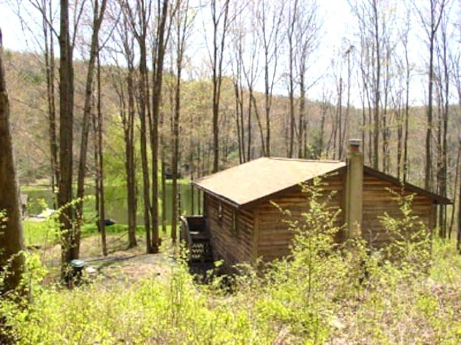 Private Mountain Camp & Pvt Pond - New Milford - Kabin