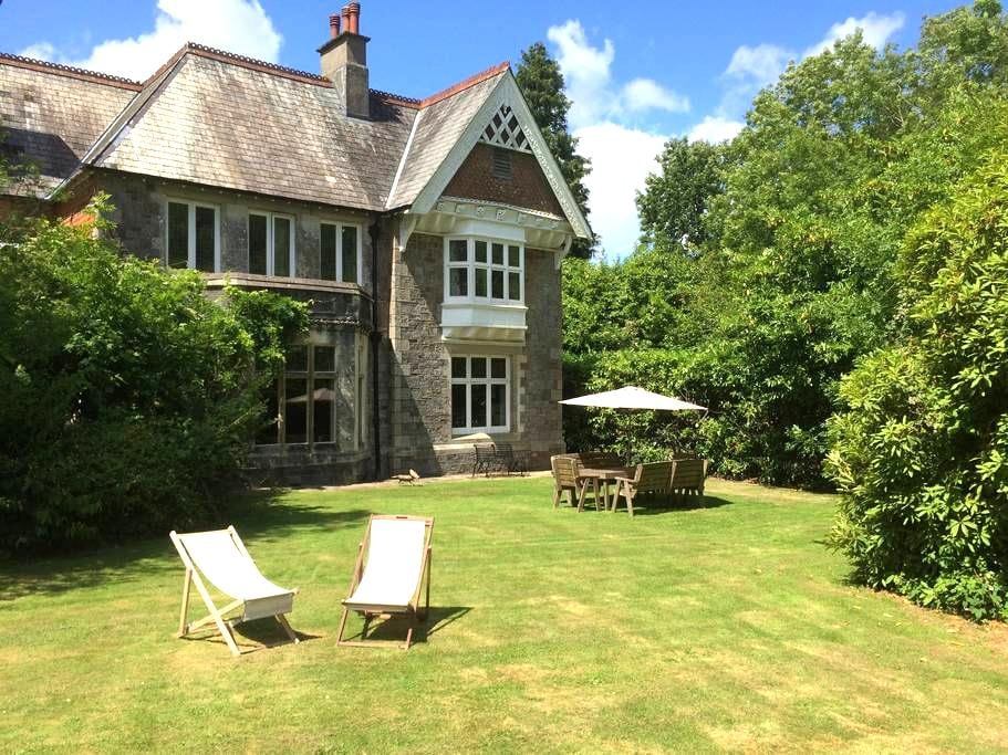 Country House with Bluebell Wood - Buckfastleigh