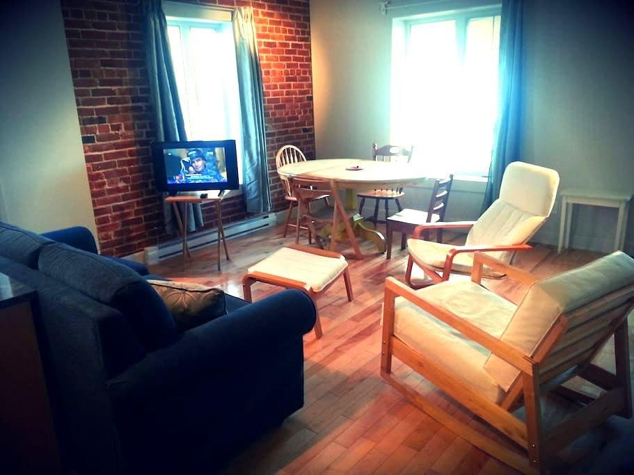 MAGNIFIQUE tout neuf!! centre ville - Sherbrooke - Apartment