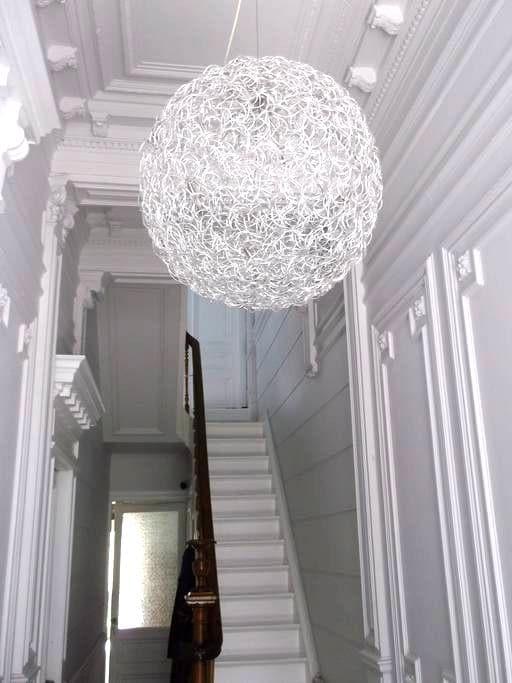 Light! Space! Air! private bathroom - Antwerpen Borgerhout - Hus