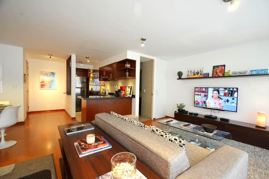 Modern Apartment 2 in Barranco - Distrito de Barranco - Lägenhet