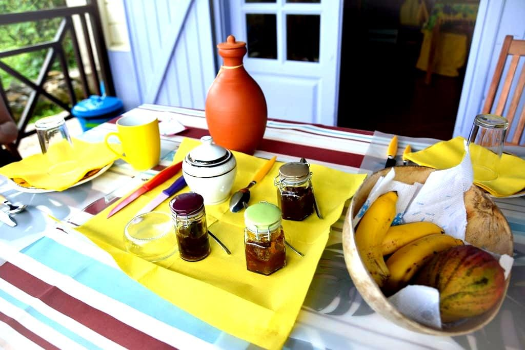 Bed and Breakfast dans une plantation - La Trinité - Villa