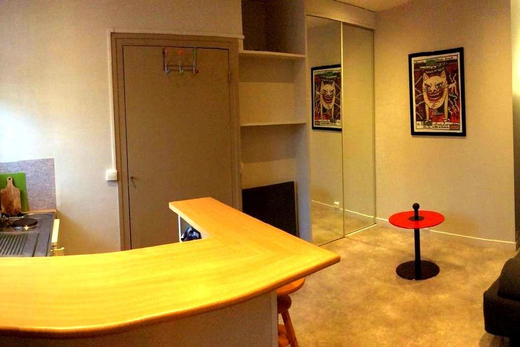 Studio indépendant meublé central - Pau - Apartment
