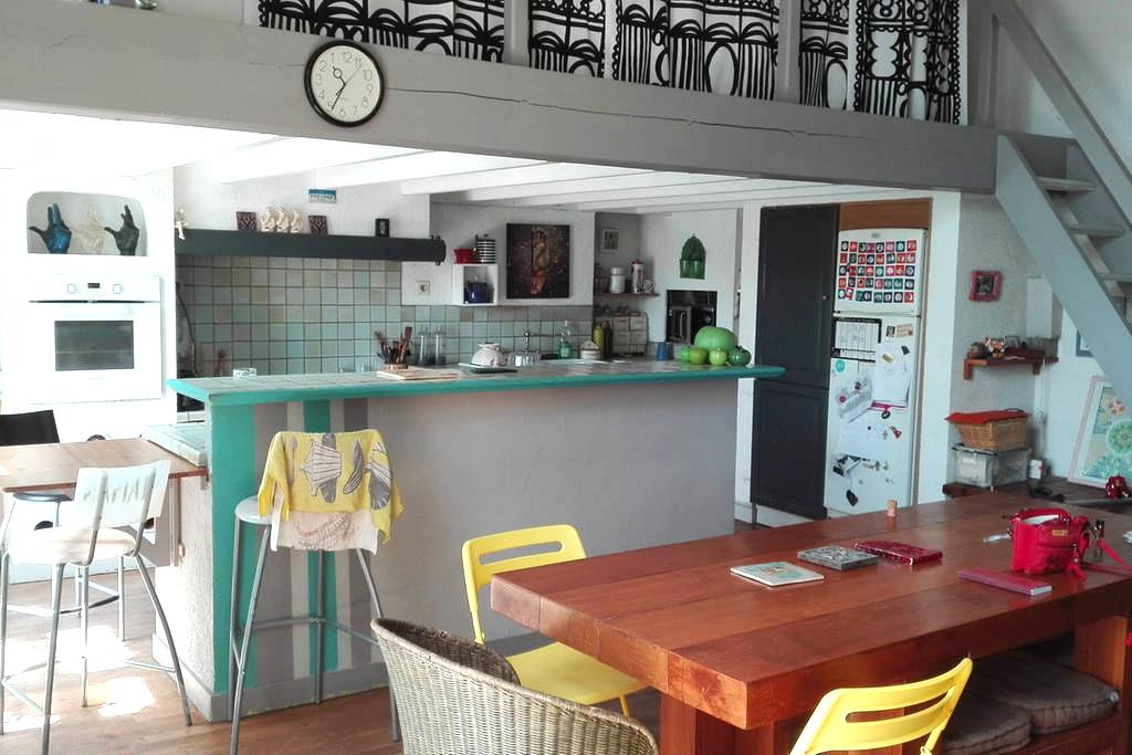 154m² appartement in the historical area of Nantes - Nantes - Loft