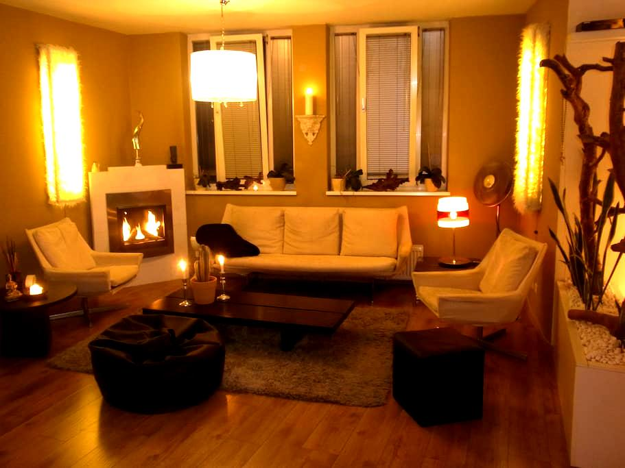 140 m² City-Aptm., Top-Ausstattung - Offenbach - Apartment