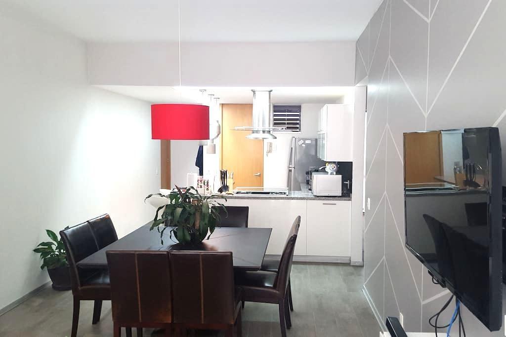 Private room in modern apartment. - Ciudad de México