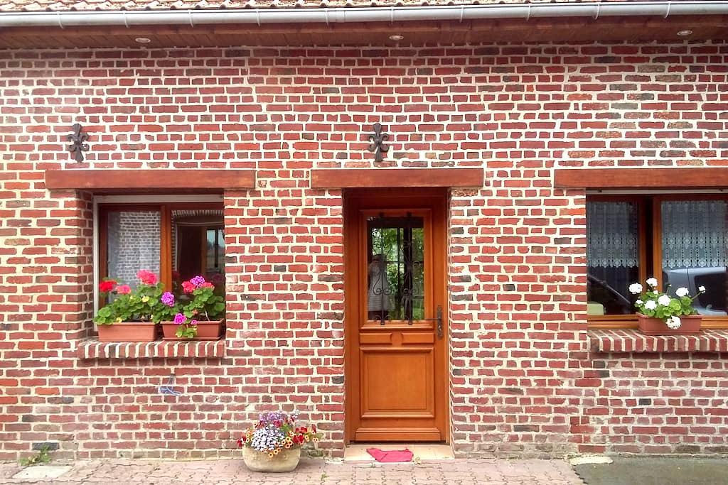 petite maison tout confort, à la campagne - Lestrem