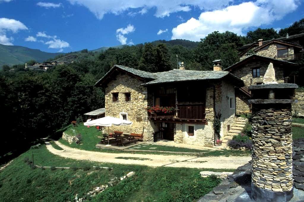 valle maira casa in montagna B&B camere e locanda - Stroppo - Appartement