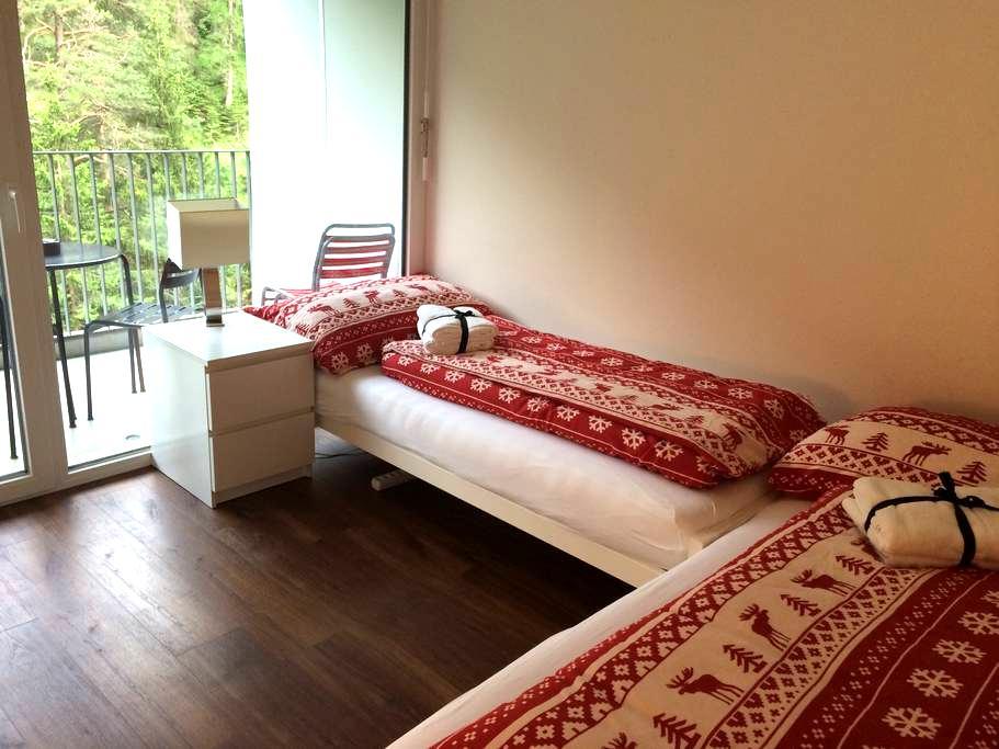 2-Zimmerwohnung mit Balkon in Laax - Laax - Appartamento
