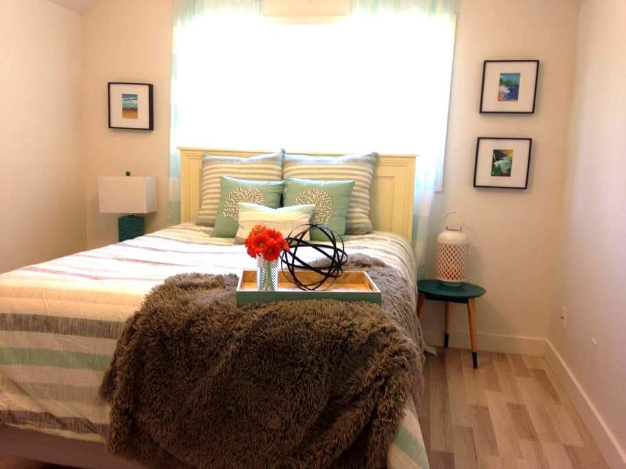 Above The Garage Affordable Clean 2 Bed Suite - Saanichton - Huoneisto
