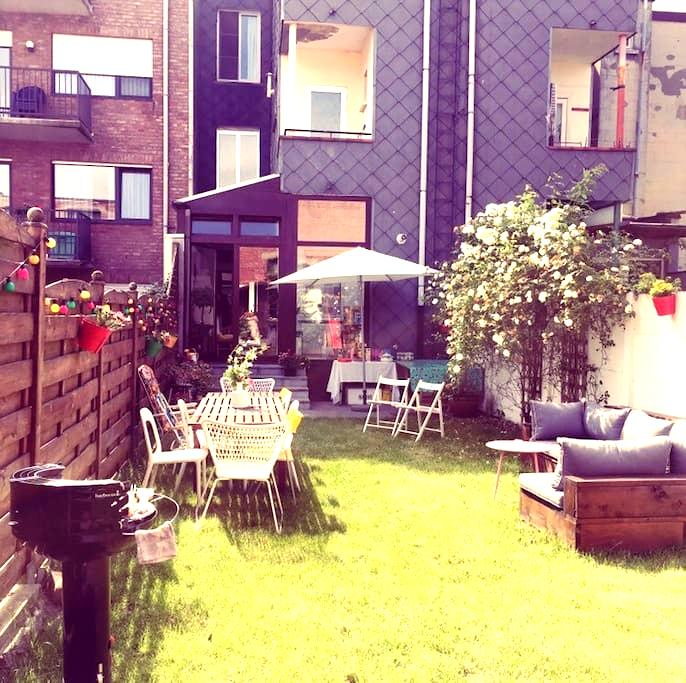 Charming appartement with garden! - 安特卫普 - 公寓