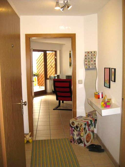 Villingen: ruhiges Apartment für 2 - Villingen-Schwenningen - Apartment