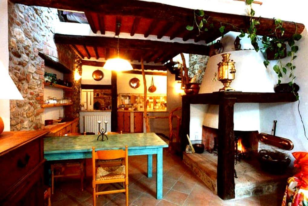 Il nido dell'artista - San Lorenzo A Merse, Monticiano - Apartamento