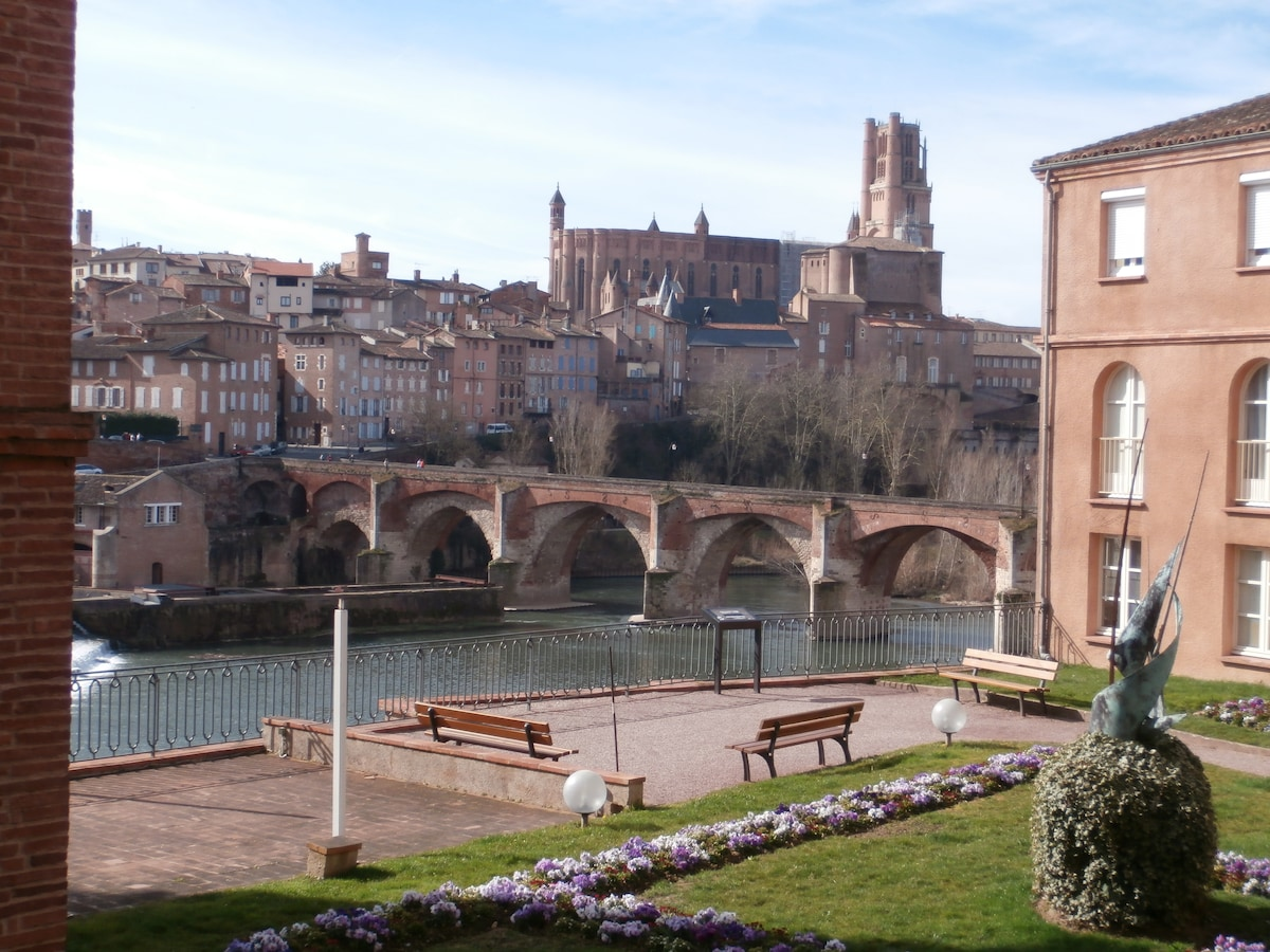 ALBI : APPARTEMENT VUE CATHEDRALE !