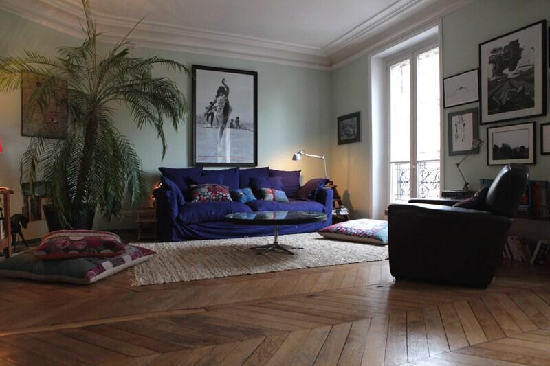 2 rooms facing the Bois de Vincenne