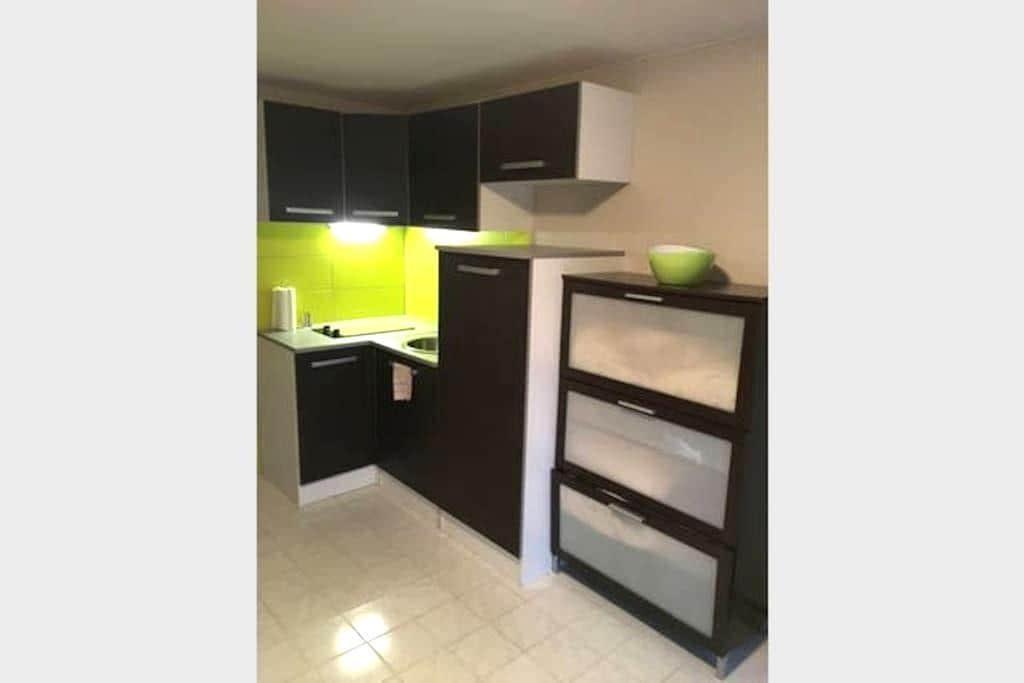 Petit studio cosy de 20m² - Grandcamp-Maisy - Apartment