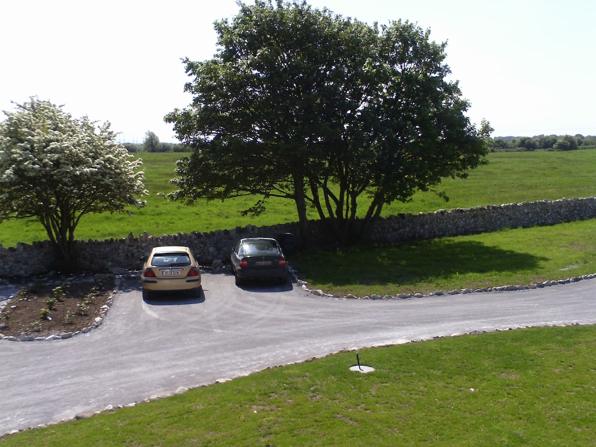 Parking in grounds