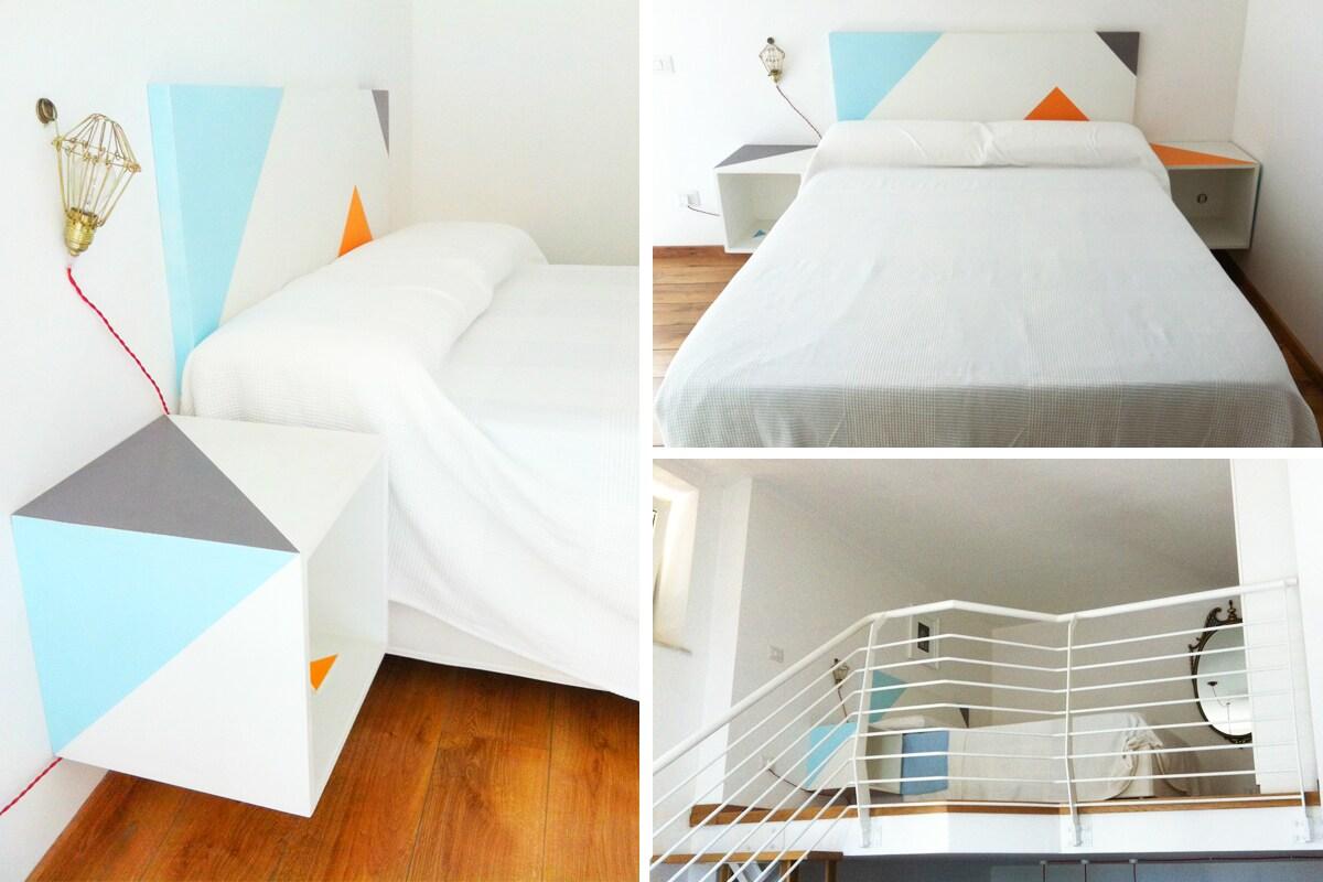 Camera da letto sul soppalco