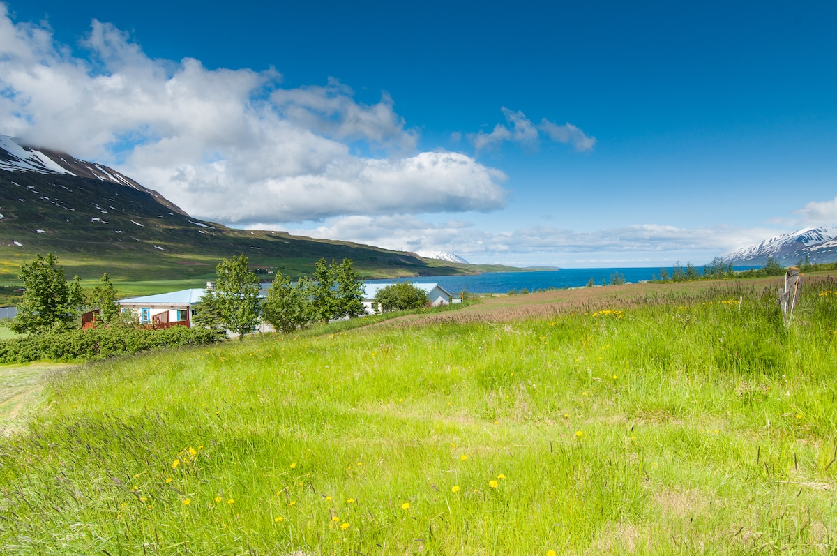 Paradise north of Akureyri (S.room)