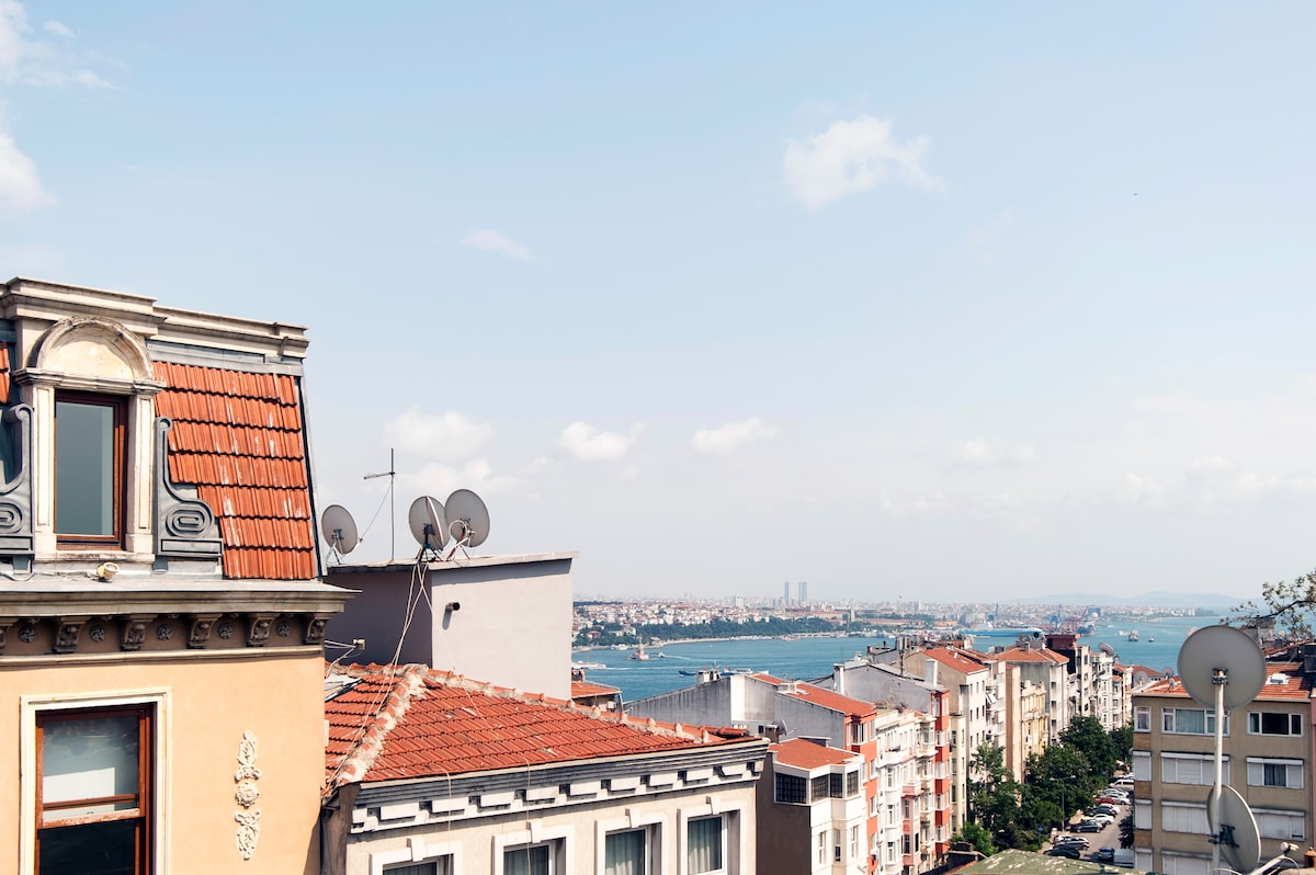 View apartment in Cihangir Taksim
