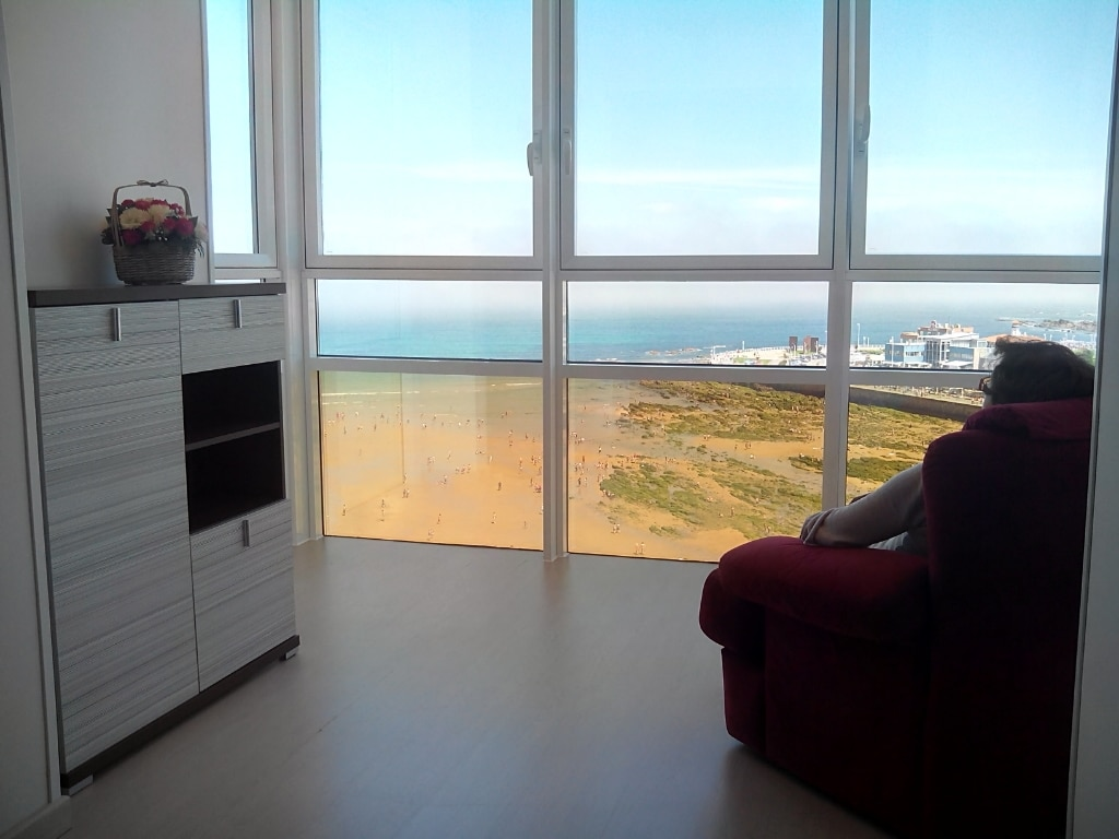 apartment with sea views