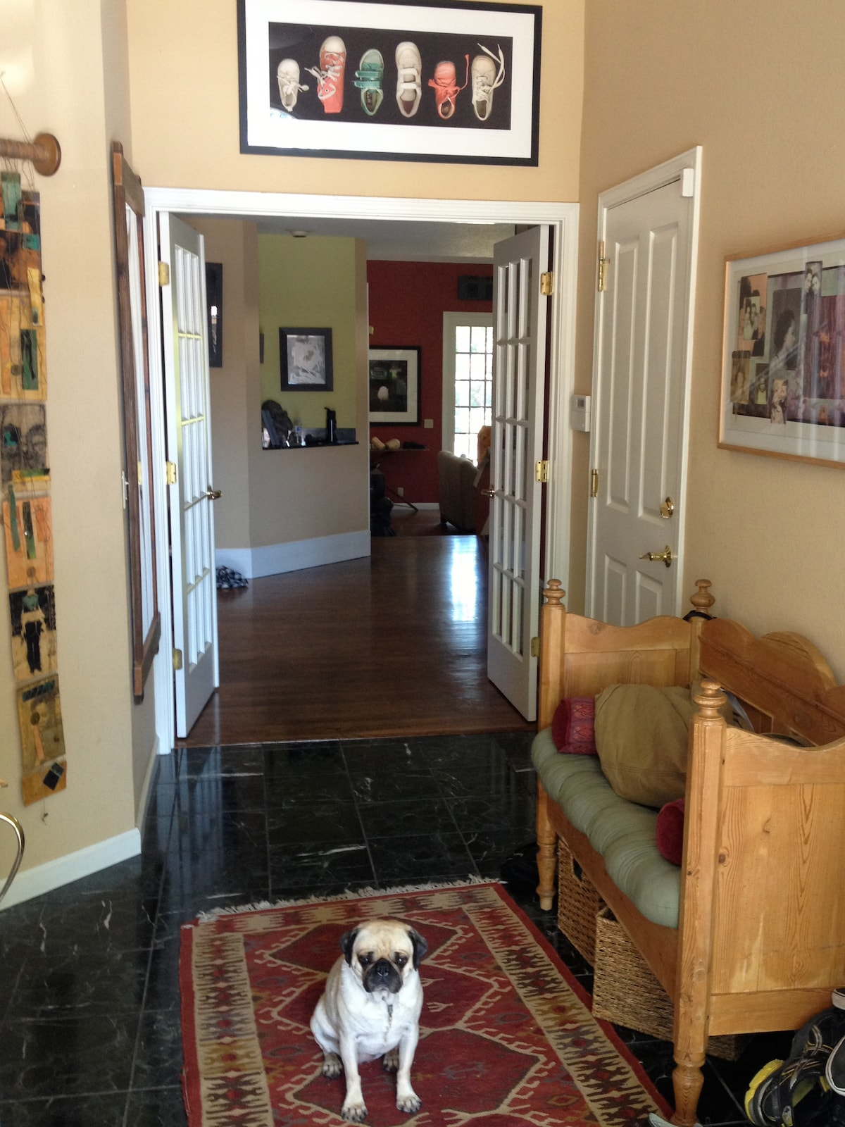 Front Hall as you enter house