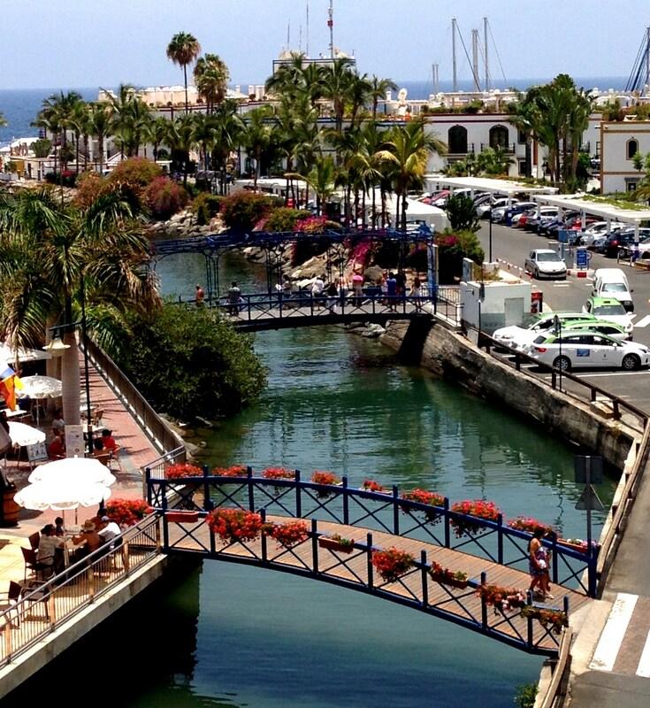 Puerto de Mogán-Bonito apartamento