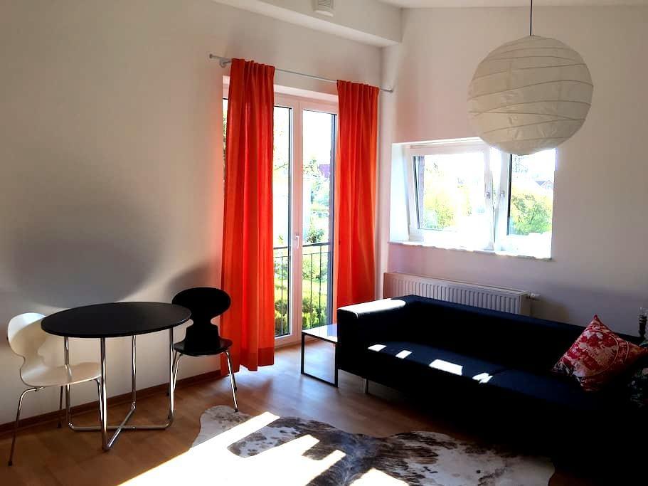 Helles Zimmer mit Bad - Гамбург - Дом