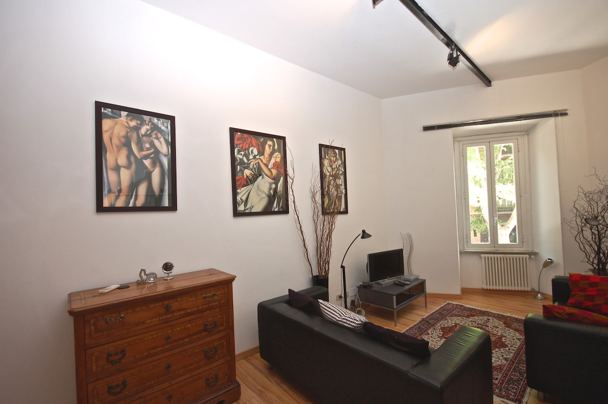 Trastevere Terrace Apartment