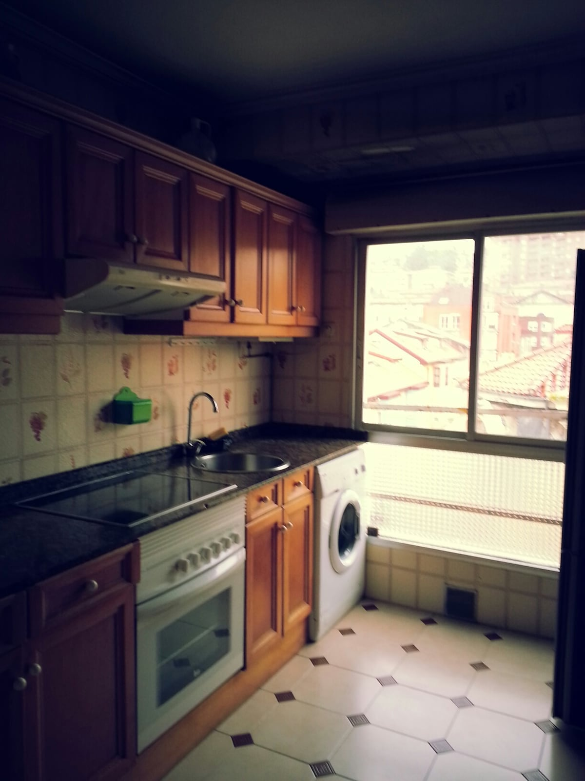 Street view from the window of your kitchen :-)