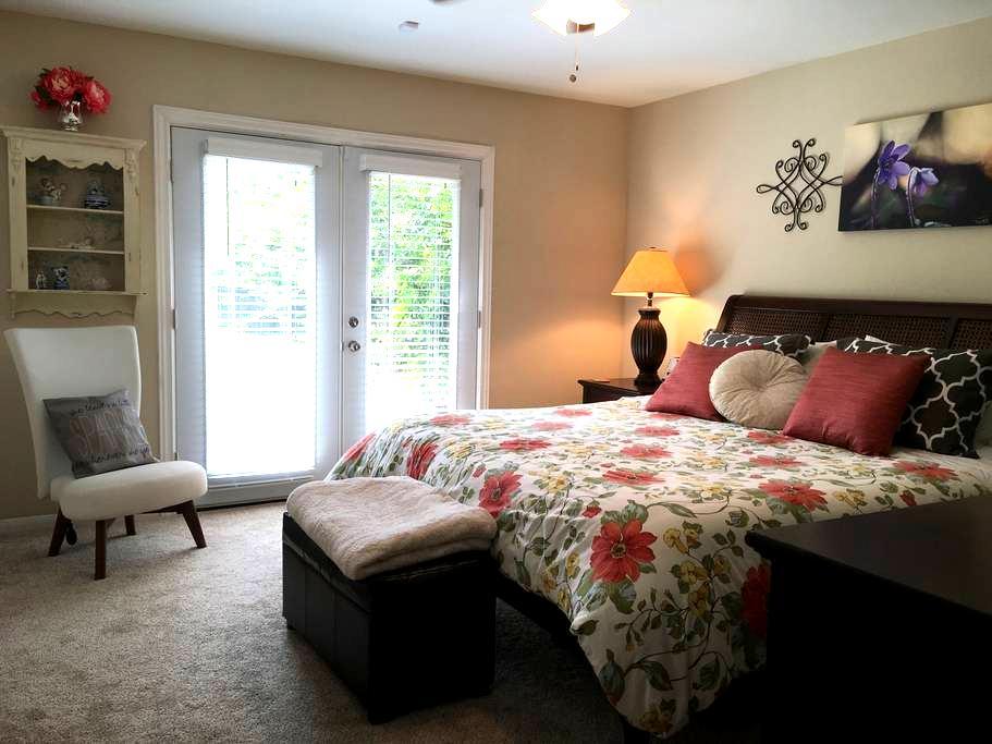 King Bedroom, Quiet Home near NASA - Houston - Casa