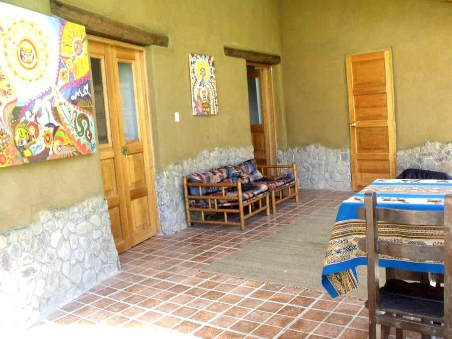 Private two storey room  - Calca - Casa