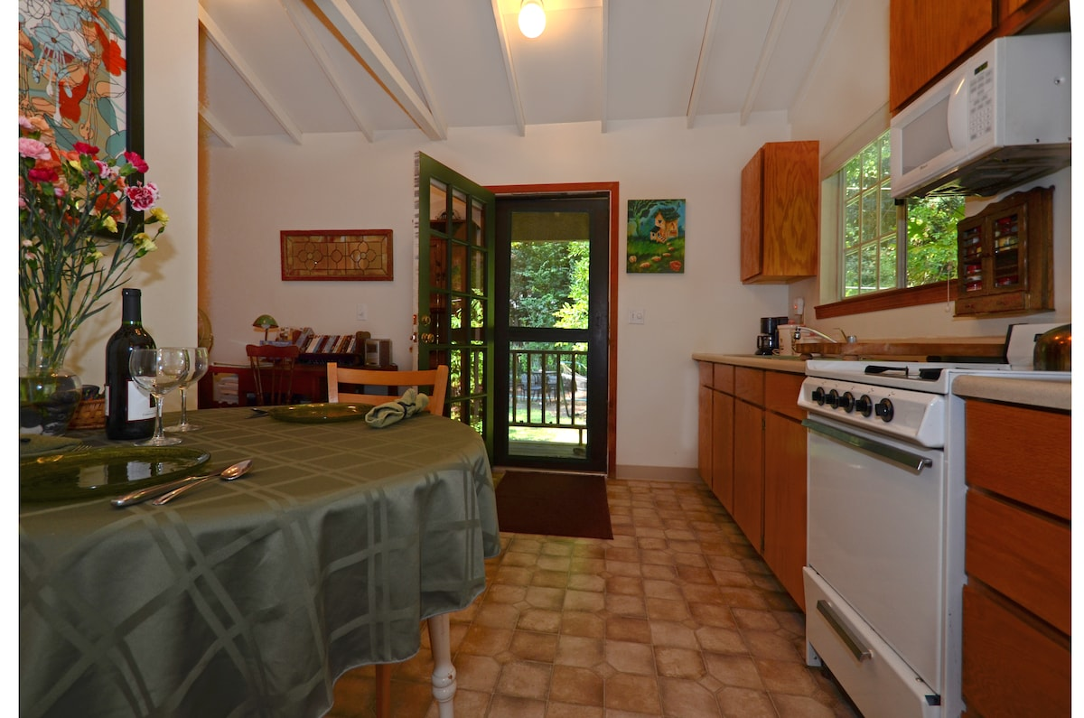 RiverSea Cottage Interior--simple, comfy, country living