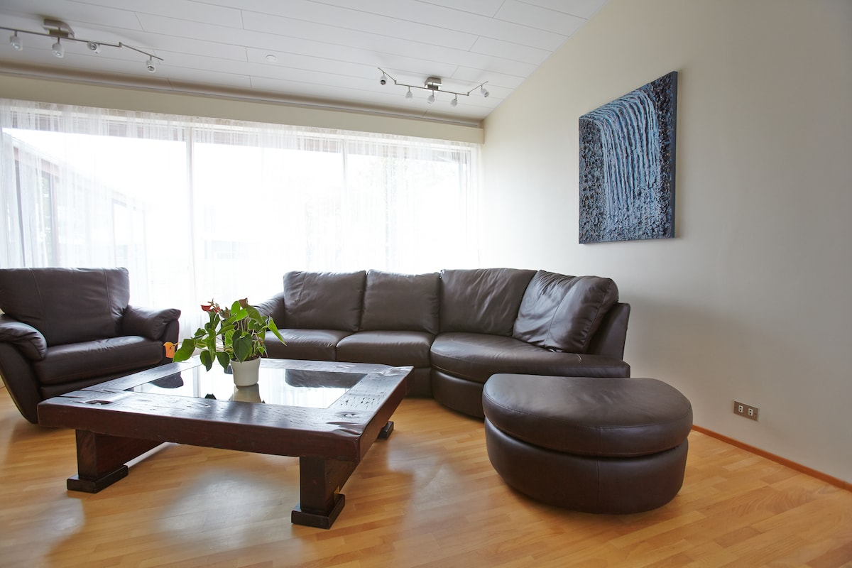 Bright and spacious living room