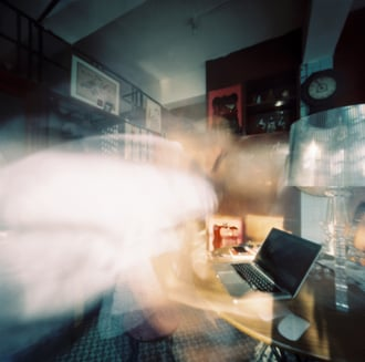 Michael on Facebook. Pinhole photo by Martin Cheung