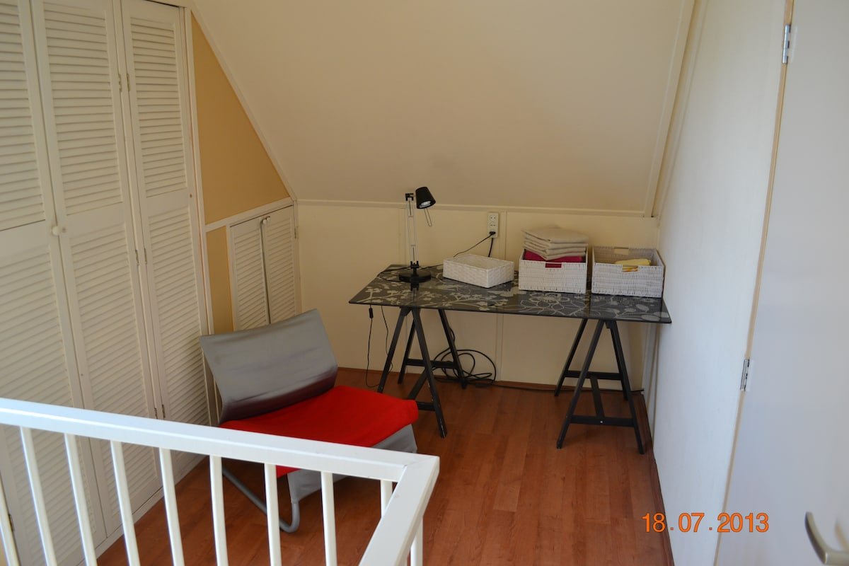 Attic for rent in beautiful nature