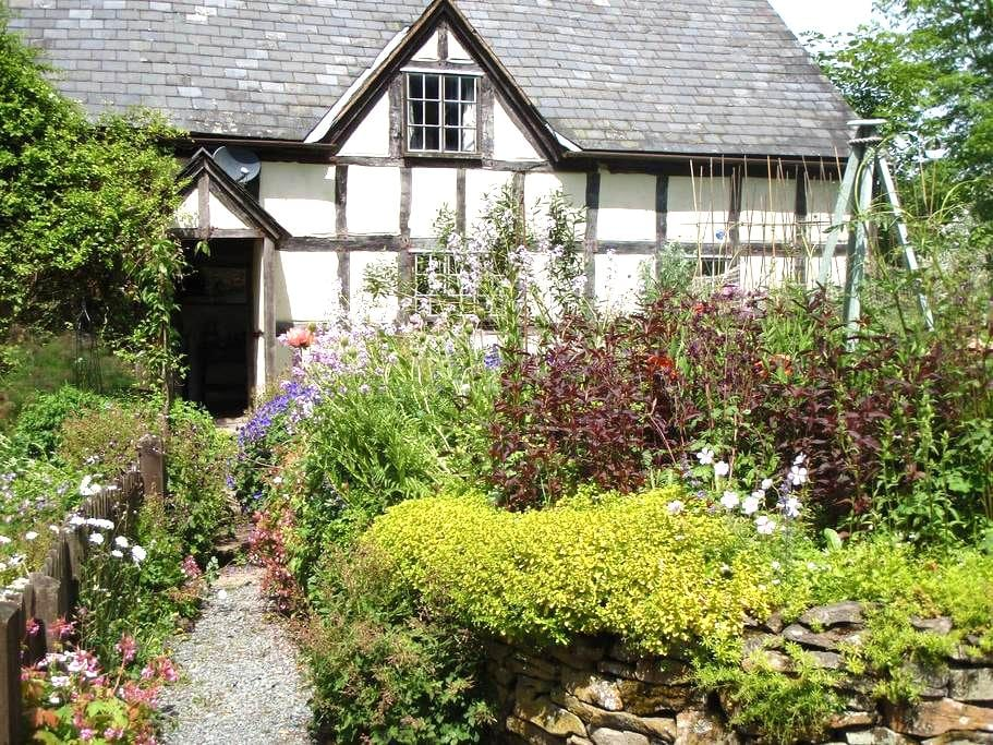 16th Century Farmhouse in Mid-Wales - Crossgates - Appartement