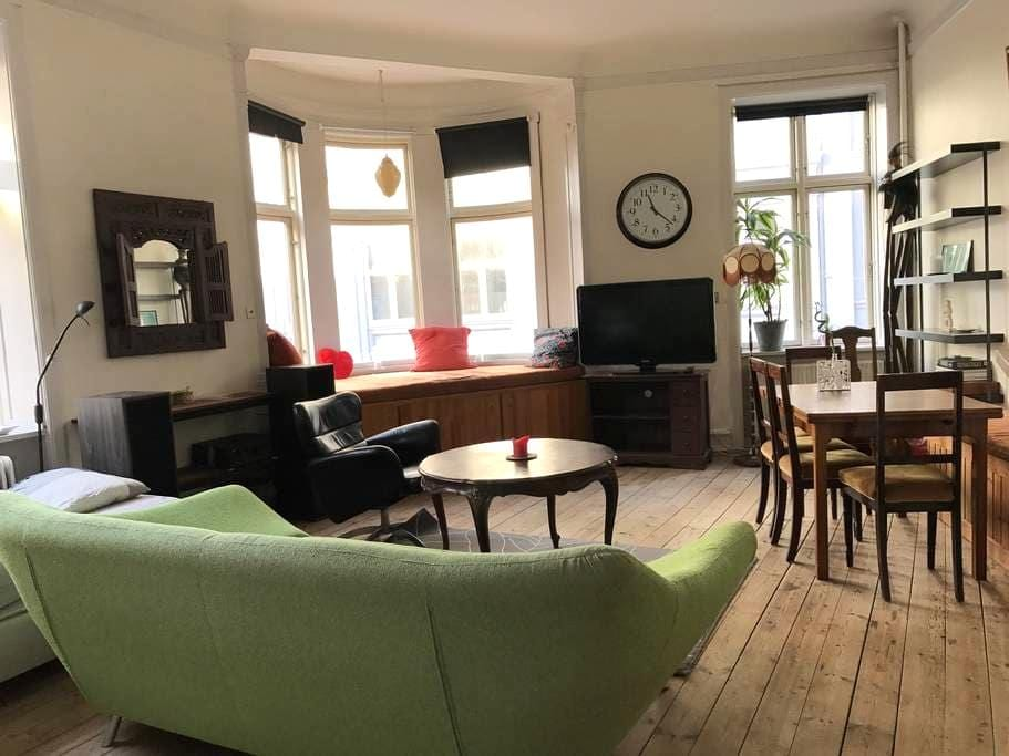 Cozy living room right in the heart of nightlife - Aarhus