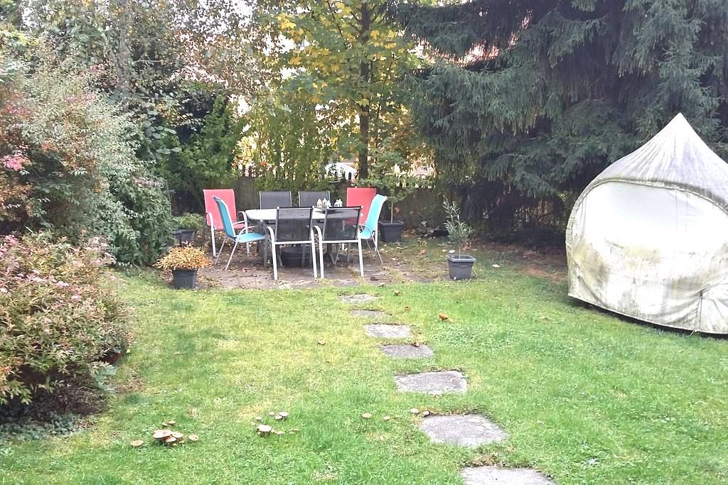 Tierfreundliche Unterkunft mit Garten, Nähe Zürich - Männedorf - Pousada