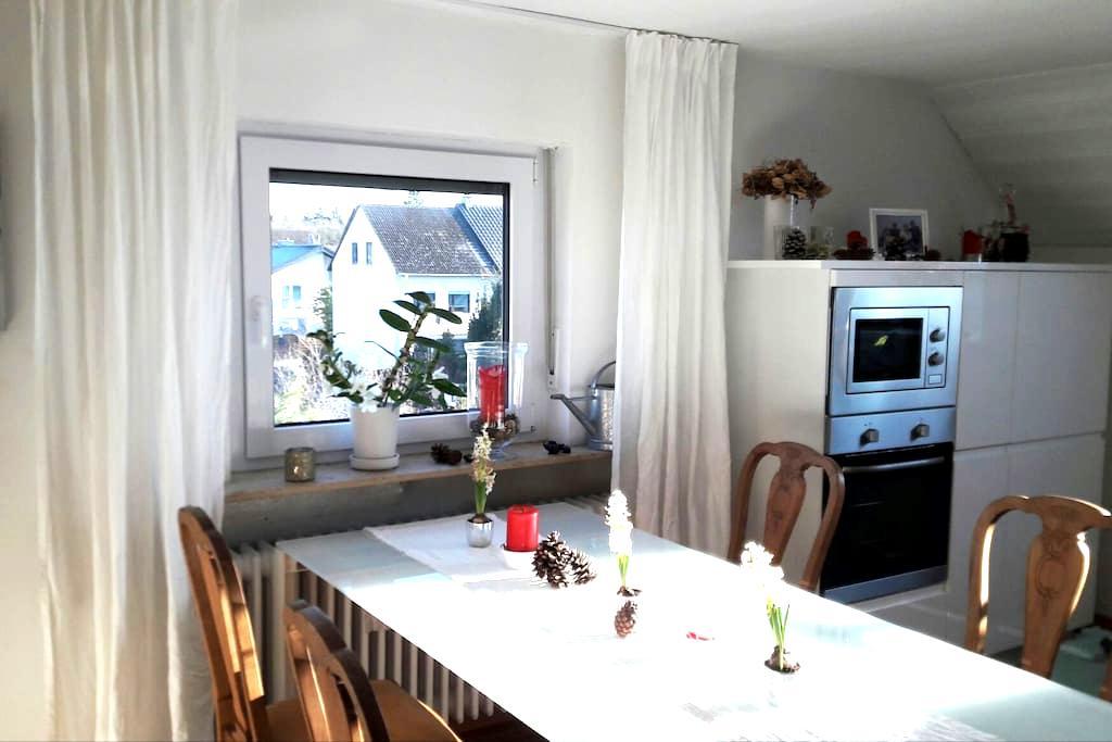 Sehr schöne, großzügige Dachgeschosswohnung - Darmstadt/Weiterstadt - Pis