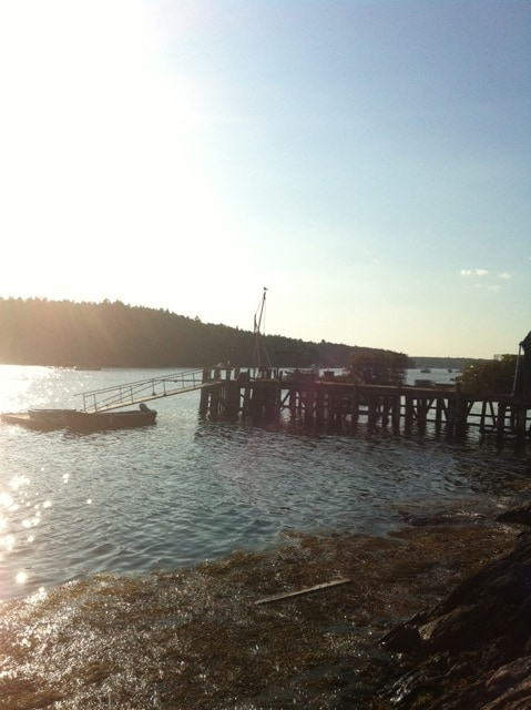 A local dock just minutes from the house.  Fresh lobster at a moment's notice.