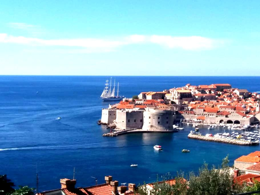 The View, stunning view to Old town - Dubrovnik - Daire