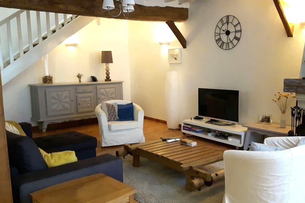 Chambres dans maison avec piscine - Buzet-sur-Baïse - Rumah