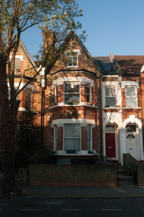Herne Hill flat, for family of 4