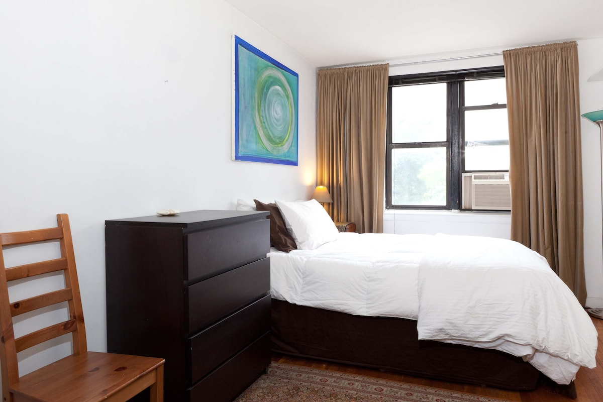 Your private room with a view of Central Park