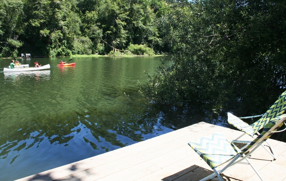 View from your Private Dock! More pics coming. House will be finished with remodel Aug 5th!