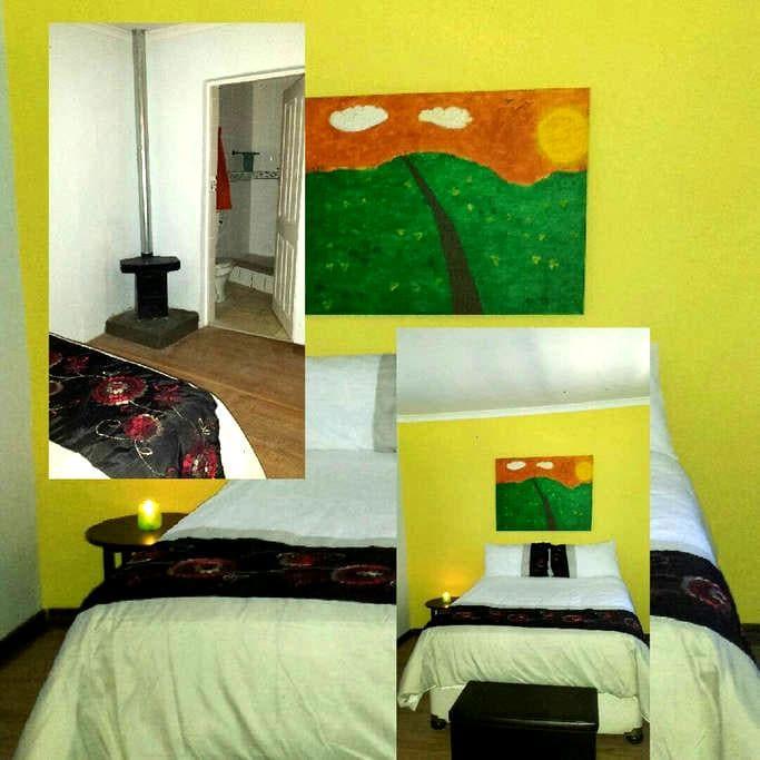 Molumong Lodge: Yellow Room. - Molumong, Ha Rafolatsane - Other