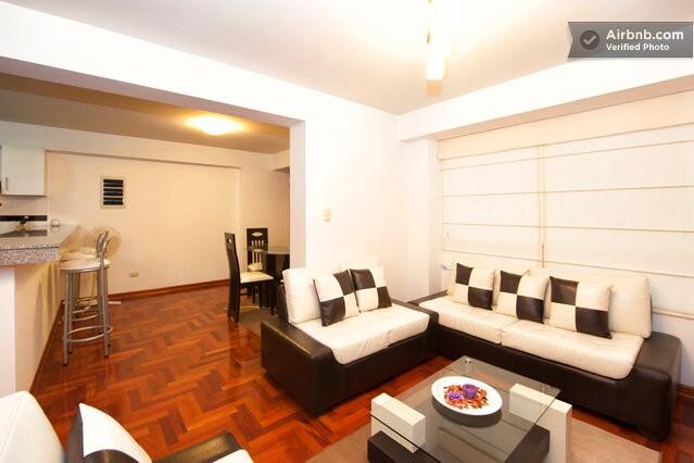 Nice flat centre Miraflores 404